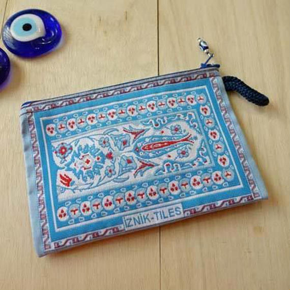 ★ nazapc37   トルコの絨毯柄やタイル柄を再現したトルコデザインポーチ