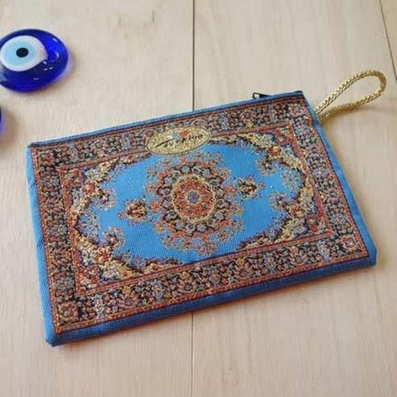 ★ nazapc31   トルコの絨毯柄やタイル柄を再現したトルコデザインポーチ