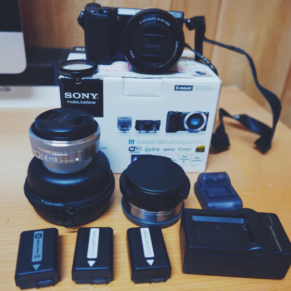 SONY NEX-5T レンズセット