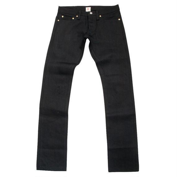 Slim Jeans - Black x Black -