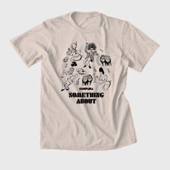 """くねくねTEE """"Go-Wiggle T-shirts""""(ナチュラル)SOMETHING ABOUT 2014"""