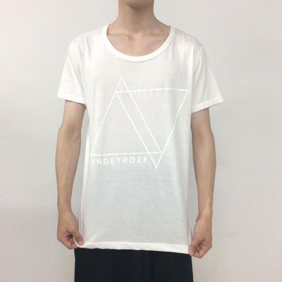 undetroze TRIANGLE T WHITE SIZE 3