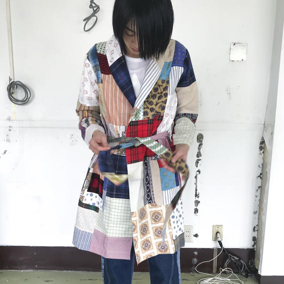TAKAYA HIOKI / シャツリメイクガウン