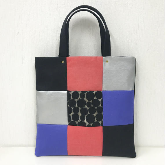 PISHAS!   Square Panel Tote Bag