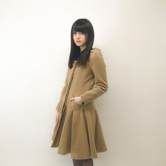 Grapeman / long  flare coat