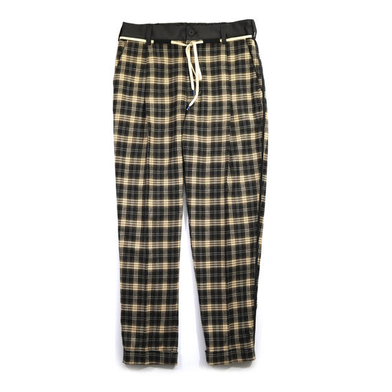 elephant TRIBAL fabrics  /  CHECK SLACKS