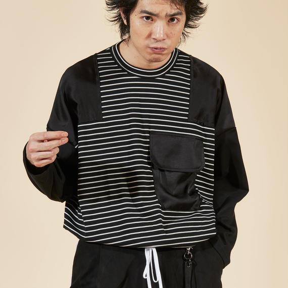 elephant TRIBAL fabrics  /  バスクコマンドT / ブラック