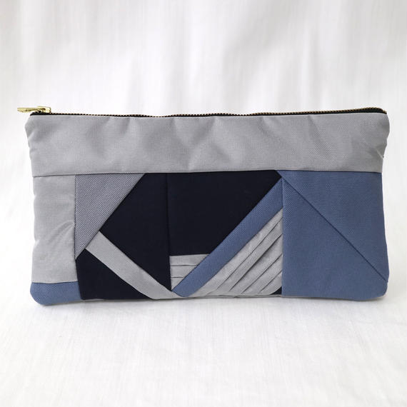PISHAS! Patchwork Clutch Bag  (S)