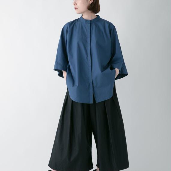 -niitu- / ハイカラシャツ / GRAYISH BLUE