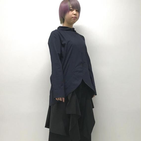 -niitu- / 刀シャツ / navy
