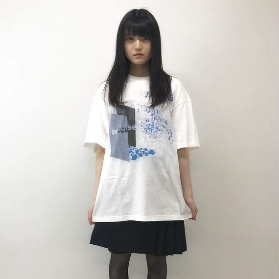 aynz /  Graphic T noise / White