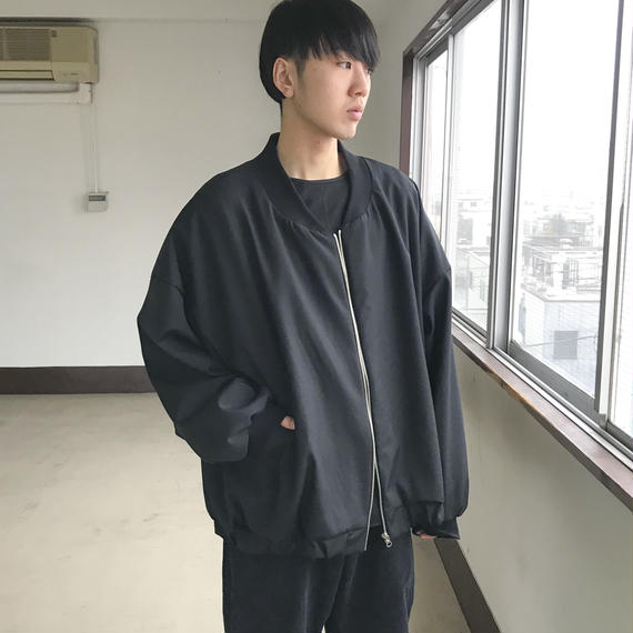 SHUTTLE / FULL MA-1 / BLACK