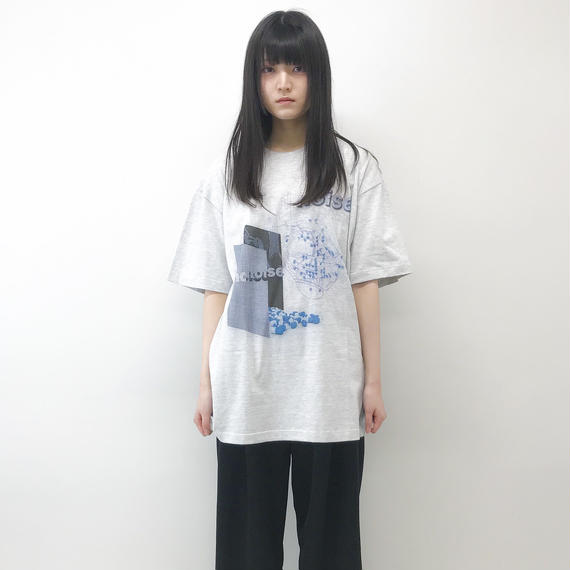 aynz /  Graphic T noise / Gray