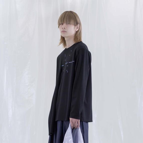 chloma / 身体多様性Tシャツ / ブラック