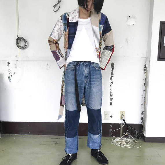 SHUTTLE / DENIM REMAKE PANTS