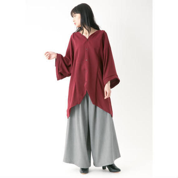 -niitu- / ビッグシャツ / burgundy