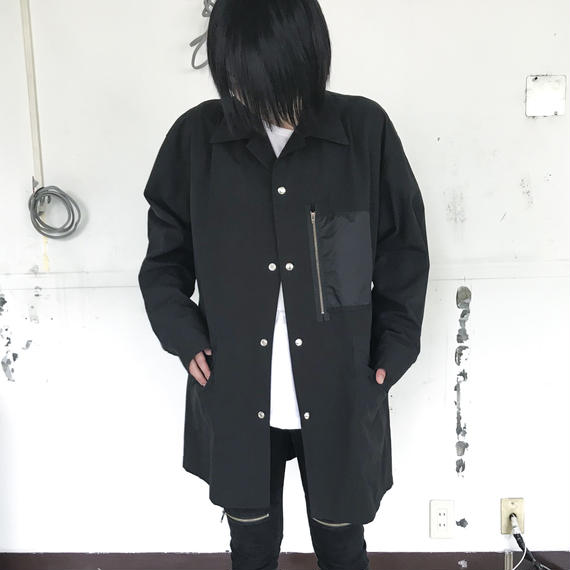 SHUTTLE/3POCKET JACKET/black