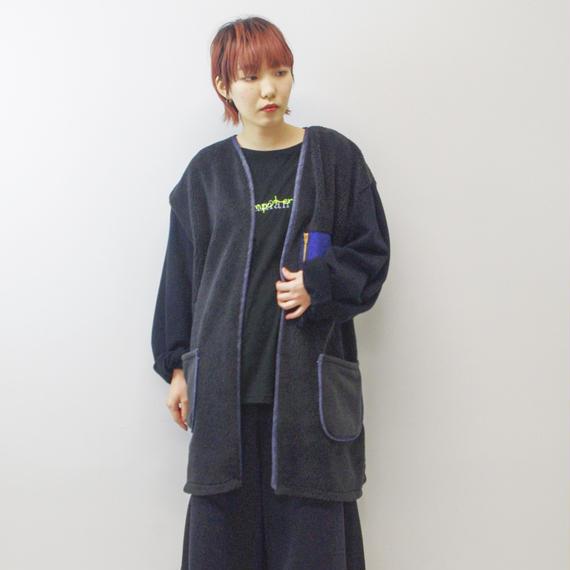 SHUTTLE / ボアジャケット / black