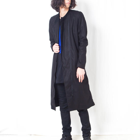 NICK NEEDLES / COTTON LINEN LONG COAT