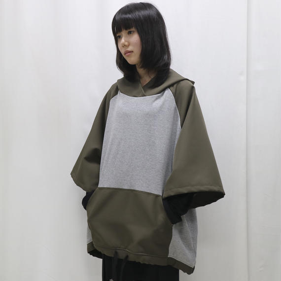 SHUTTLE/ wide parka(gray,green)