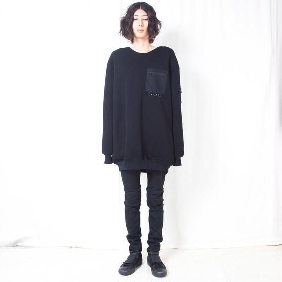 NICK NEEDLES  /  POKE SWEAT / BLACK