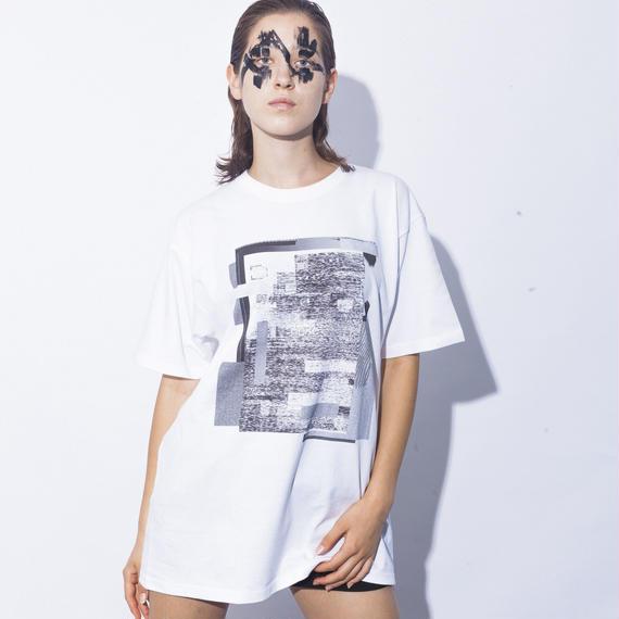 <受注アイテム> NICK NEEDLES / Noise T (LAYER) / WHITE