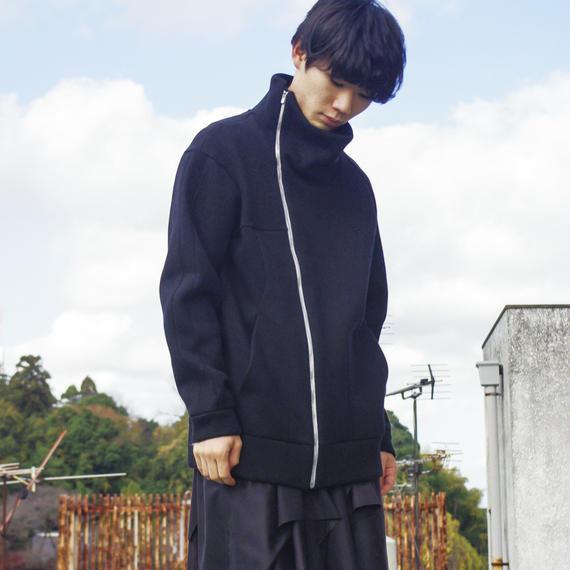 chloma / フォームドジャージ/ BLACK