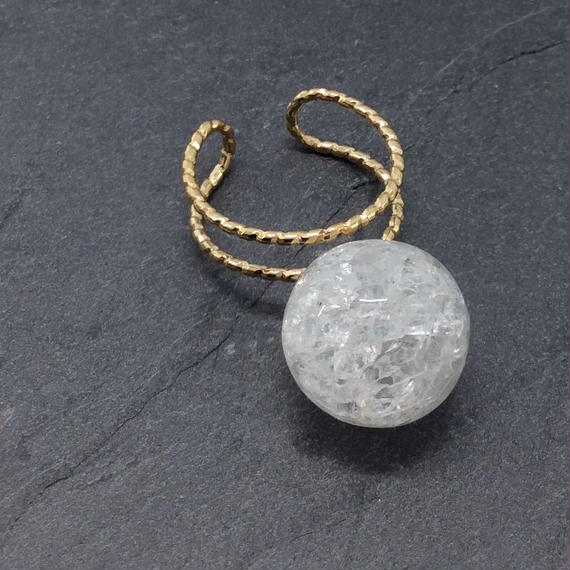tivenus Double Ring ball Crystal