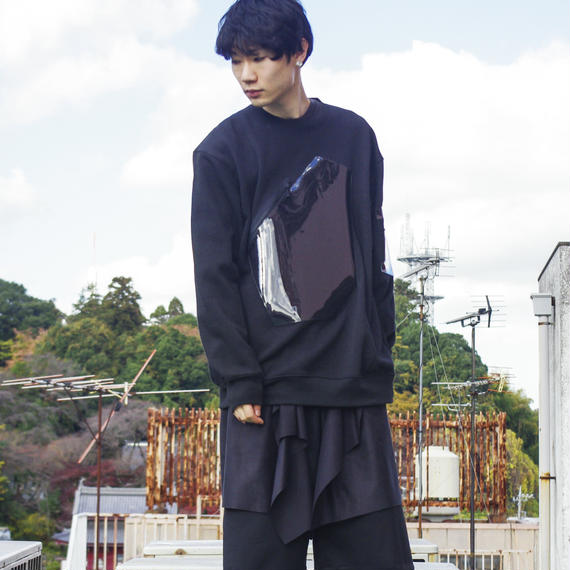NICK NEEDLES / Harmony Sweat / BLACK×BLACK