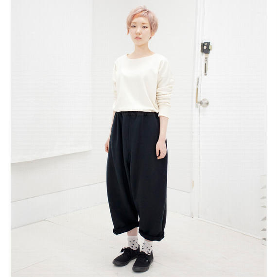 SHUTTLE wide pants black