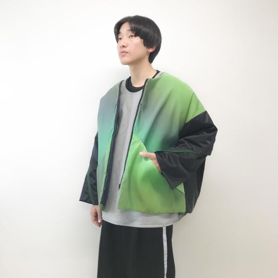 elephant TRIBAL fabrics / ナイロンブルゾン / グリーン