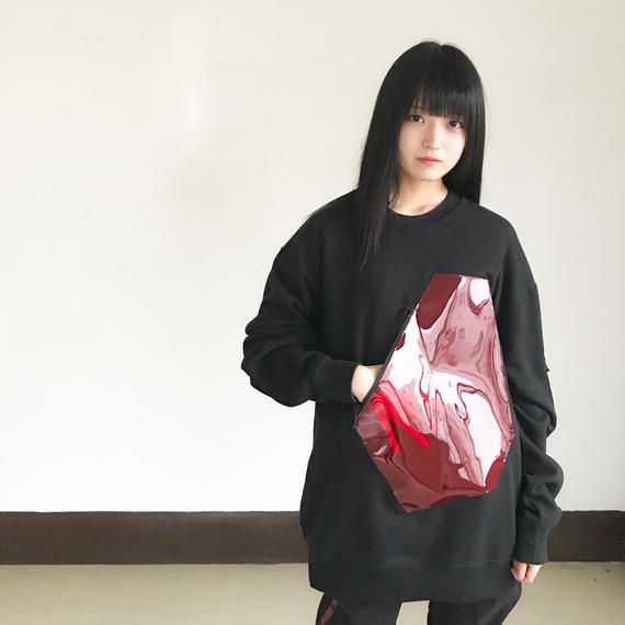 NICK NEEDLES / Harmony Sweat / BLACK×RED