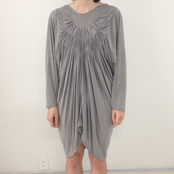 <sale> Grapeman dress gray