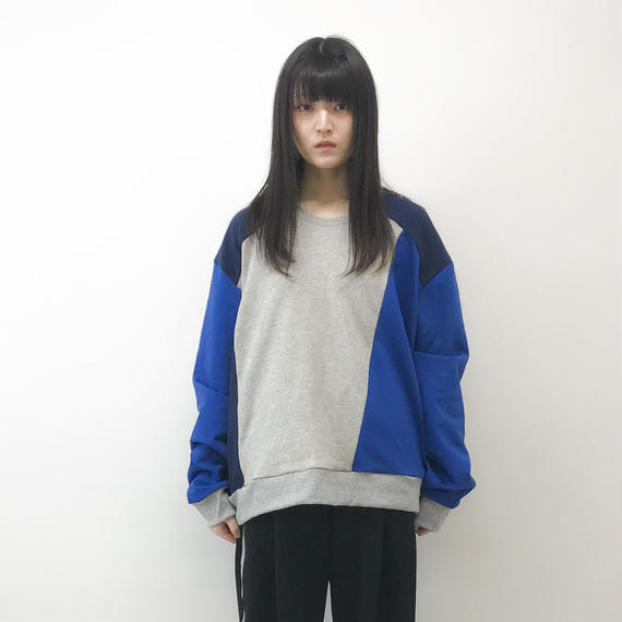 NICK NEEDLES / MIX COLOR SWEAT 1