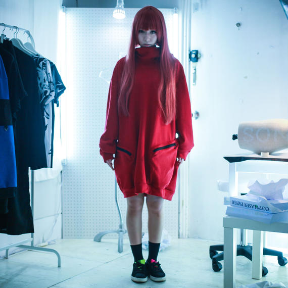 NICK NEEDLES / BIG PARKA / RED