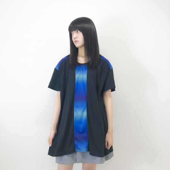 NICK NEEDLES / GRADATION BLUE  T