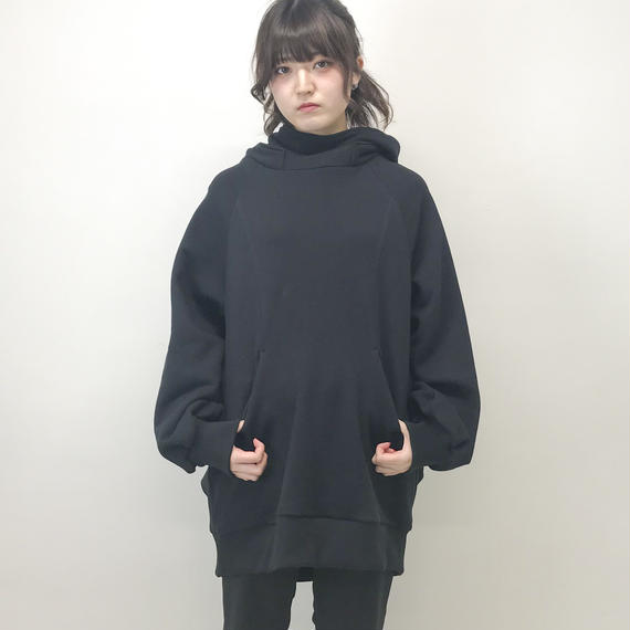 NICK NEEDLES  / SOLID PARKA / BLACK