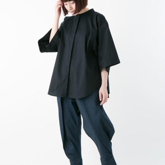 -niitu- / ハイカラシャツ / BLACK