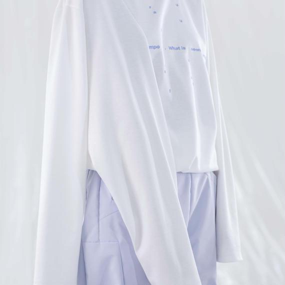 chloma / 身体多様性Tシャツ / ホワイト