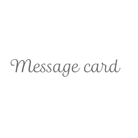ソフィー&観覧車メッセージカード1枚
