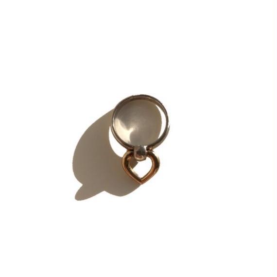 vintage HERMES heart ring #52