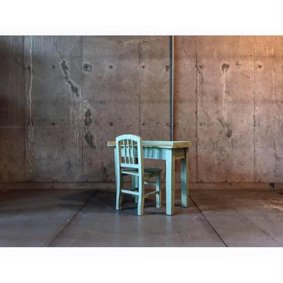 Denmark  こども机&椅子