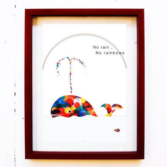 #1087:虹くじら / キボウの雨を降らせましょう