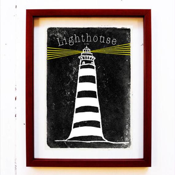 #1781:Lighthouse / よるの灯台