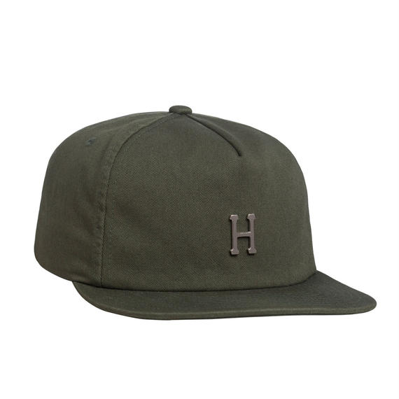 WASHED METAL H STRAPBACK ALOE