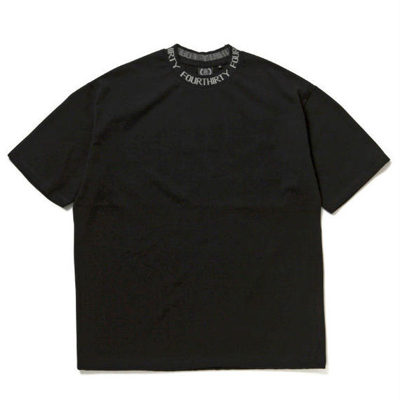 JACQUARD COLLAR S/S BIG TEE