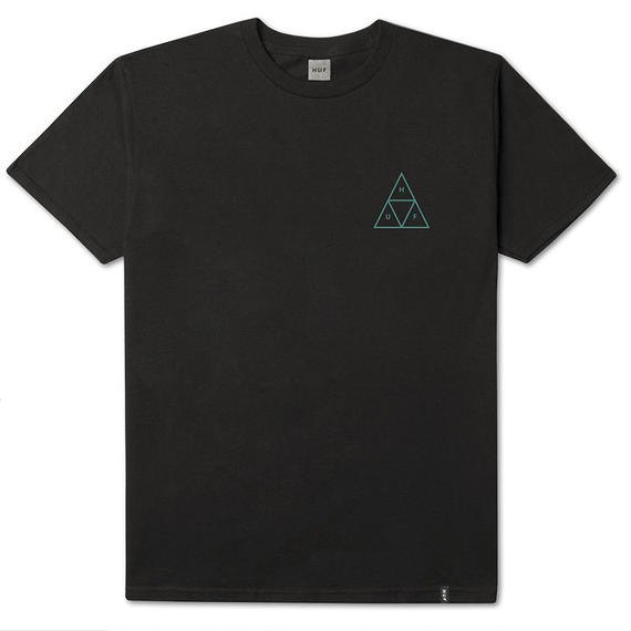 HIGH TIDE TRIANGLE S/S TEE BLACK