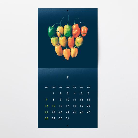 お野菜カレンダー2019
