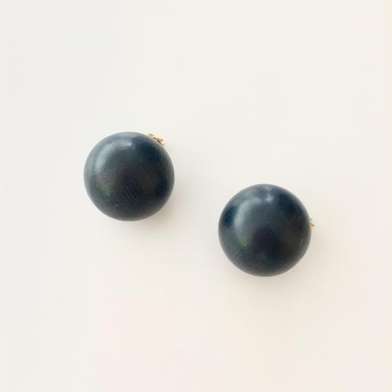 Earrings  a  ダークネイビー