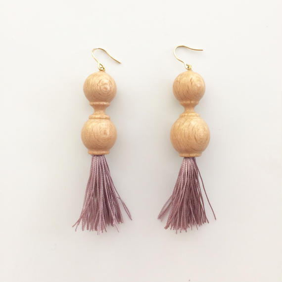 Earrings b ナチュラル